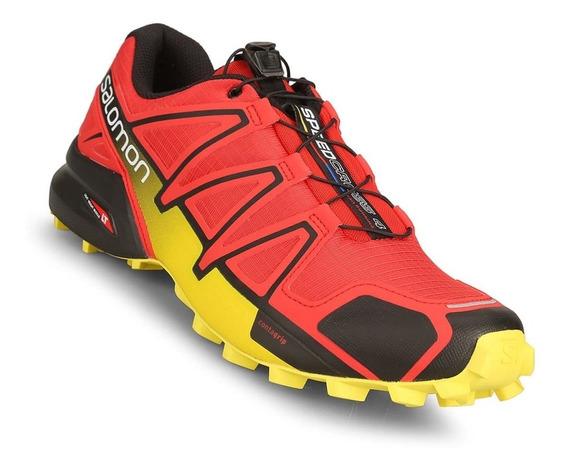 Zapatillas Salomon Speedcross 4 Hombre Trekking Asfl70