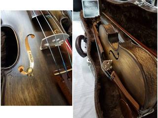 Violino Artesanal Rolim Envelhecido Fosco