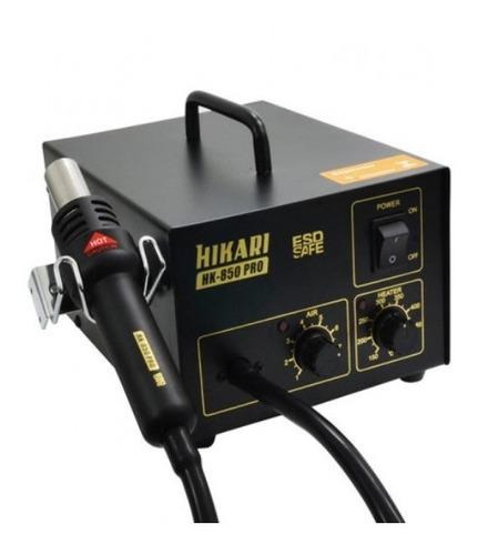 Estação Ar Profissional Smd Analógica Hikari Hk-850 Pro