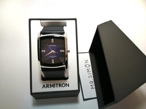 Reloj De Vestir Para Hombre, Correa De Piel , Armitron