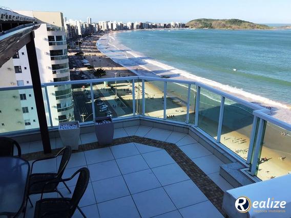 Cobertura Para Venda Em Guarapari / Es No Bairro Praia Do Morro - Cb00009 - 33342008