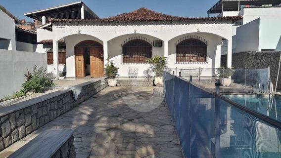 Majestosa Casa De 6 Qts E 2 Suítes Com Piscina - Ca1245