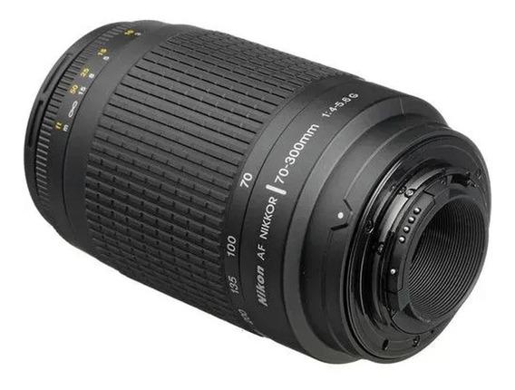 Lente Nikon Af Nikkor 70-300mm 1: 4 - 5.6 G