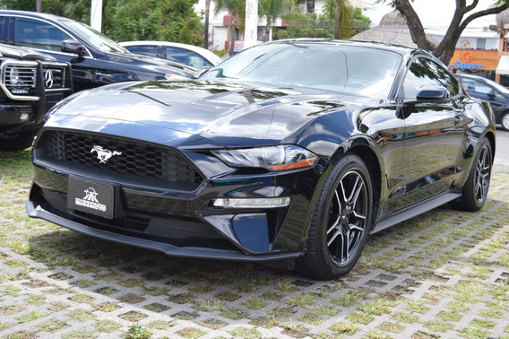 Ford Mustang 2019 Ecoboost 2.3 L Negro