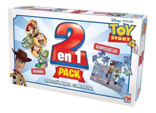 Imagen 1 de 4 de Juego De Mesa Fotorama 2 En 1 Toy Story 4