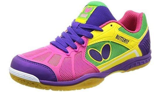 Mariposa Lezoline Rifones Zapatos De Tenis De Mesa