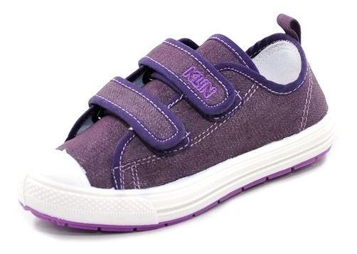 Tênis Sapatin Infantil Bebê Klin Casual De Velcro Original