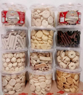 Kit Com 12 Unidades Biscoito Amanteigados Mineira Atacado