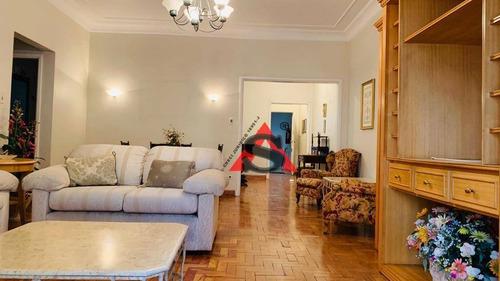 Apartamento Com 3 Dormitórios À Venda, 140 M² Por R$ 1.300.000,00 - Santa Cecília - São Paulo/sp - Ap43212