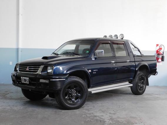 Mitsubishi L200 Doble Cabina 4x4 Año 1998