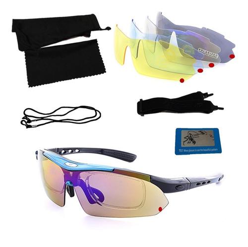Lentes Deportivo Intercambiable Polarizado Gafas Uv400 Stock