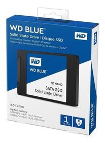 Ssd Western Digital Wd Blue 1tb 3d-nand Sata 3 Pc/notebook