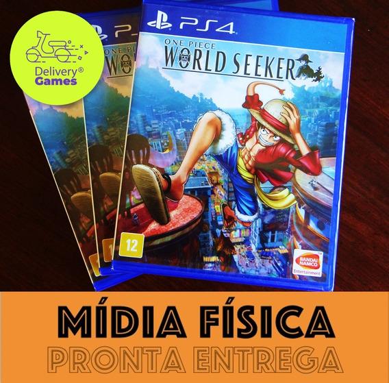 One Piece World Seeker Ps4 Mídia Física Lacrado + N. Fiscal
