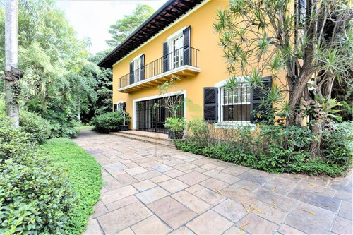 Casa Com 4 Dormitórios Para Alugar, 600 M² Por R$ 16.000,00/mês - Jardim América - São Paulo/sp - Ca0302