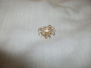 Zarcillo Unidad Piercing Retro Baño Oro Oferta Jueves Remate