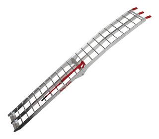 Rampa De Moto Doble Pliegue Aluminio Reforzada