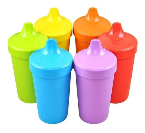 Imagen 1 de 3 de 2 Vasos Anti Derrame Re-play 100% Reciclados Varios Colores