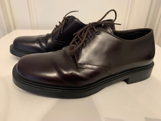 Zapatos Hombre Prada Marron - Talle 7.5 / Aprox 41