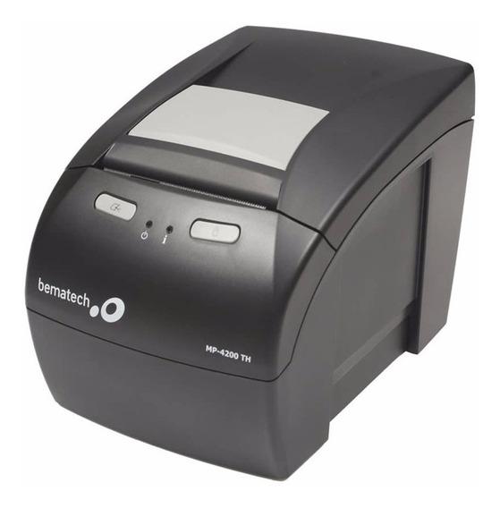 Impressora Térmica Bematech Mp-4200 Th Rede Rj45 + Nf