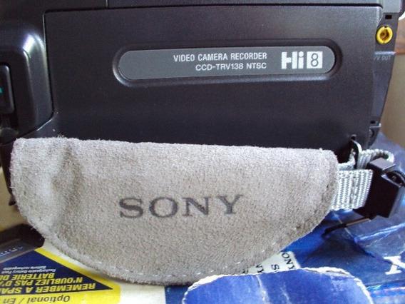 Camara Video Handycan Sony Hi8 Ccd-trv 138