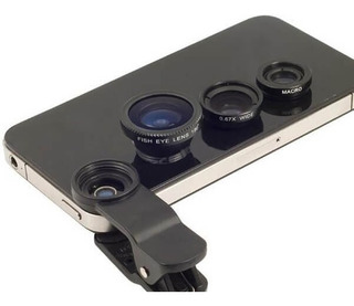 Lente Universal Clip Smartphone