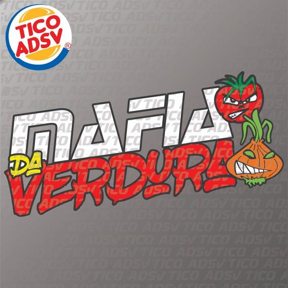 Adesivo Máfia Da Verdura + Frete Grátis Brasil