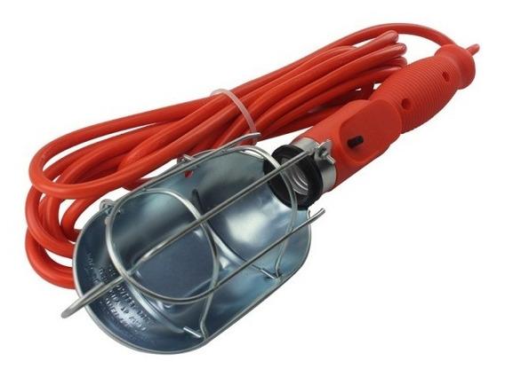 Sanelec 2280 Lámpara De Taller Con Canastilla Metálica 5m