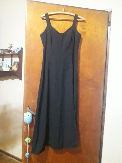 Vestido Largo Negro Fiesta Talle 3