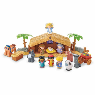 Nacimiento Fisher Price Deluxechristmas Story. Little People