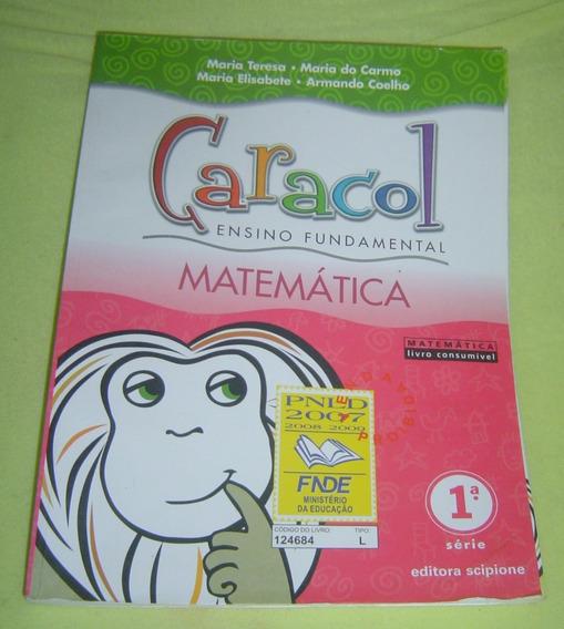 Caracol Ensino Fundamental Matemática 1º Série Maria Teresa