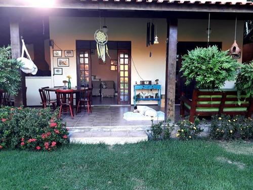 Casa Com 3 Suítes À Venda, 233 M² Por R$ 750.000 - Sapiranga - Fortaleza/ce - Ca0303