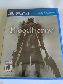 Bloodborne Ps4 Nuevo Fisico Sellado Envio Gratis