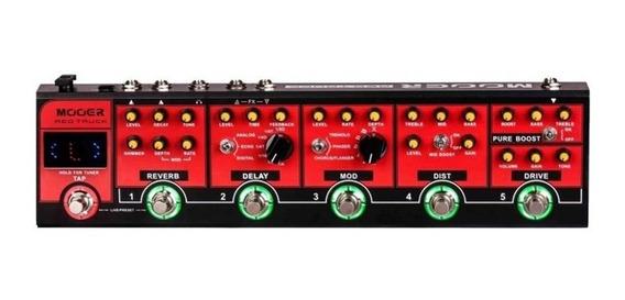 Pedaleira Mooer Red Truck Cpt1 Para Guitarra Promoção.