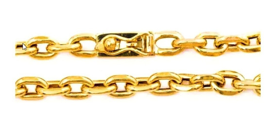 Pulseira Masculina Ouro 18k Elo Cadeado Cartier 15g Oca 0032