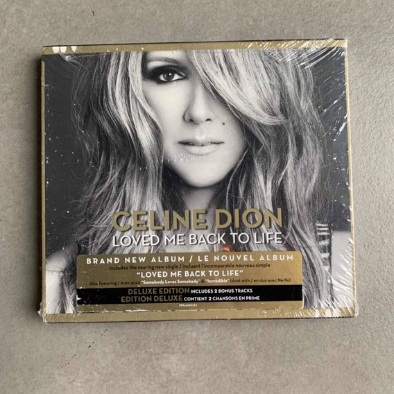 Cd Celine Dion Loved Me Back To Life Deluxe Edition