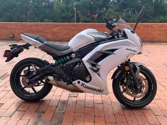 Kawasaki Er 6f Blanca 2015