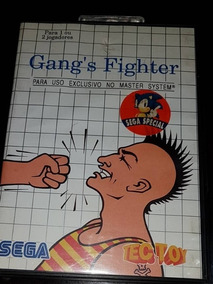 Cartucho Para Master System: Gang