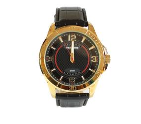 Relógio Mondaine Original Pulseira Couro Folhado A Ouro Nfe