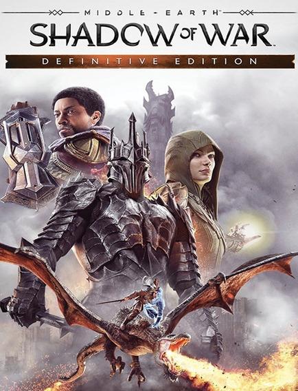 Middle Earth Shadow Of War Definitive - Pc Steam Key