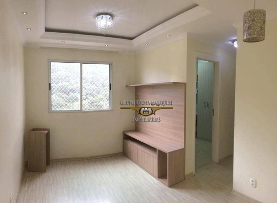 Apartamento Com 2 Dormitórios Para Alugar, 46 M² Por R$ 850,00/mês - Aricanduva - São Paulo/sp - Ap1210