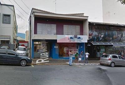 Salão Para Alugar, 461 M² Por R$ 10.000/mês - Centro - Americana/sp - Sl0057