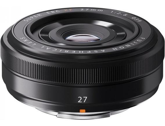 Lente Fuji Fujifilm Xf 27mm F/2.8 P/ Xpro2 Xt\2 Xt20 Xh1