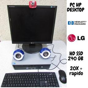 Computador De Mesa Hp Intel Core 2 Duo V Pro 3.0 Home Offic