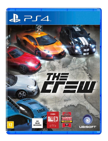 The Crew - Mídia Física - Ps4 - Novo