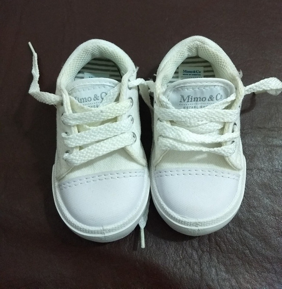 Zapatillas Mimo & Co Blancas Sin Uso
