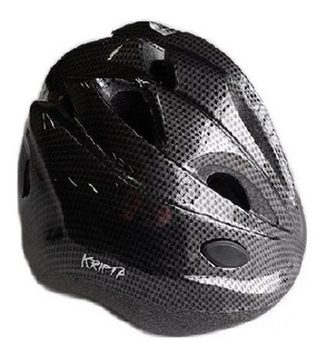 Capacete Ciclista Kripta Infantil Pro Jr Carbono