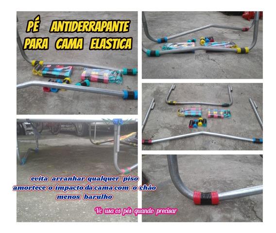 Pé Antiderrapante P/cama Elastica Mais Segurança Kit C/20