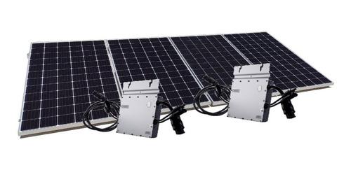 Imagen 1 de 5 de Kit De 4 Paneles Solares 385w Completo - 390 Kwh Bimestre