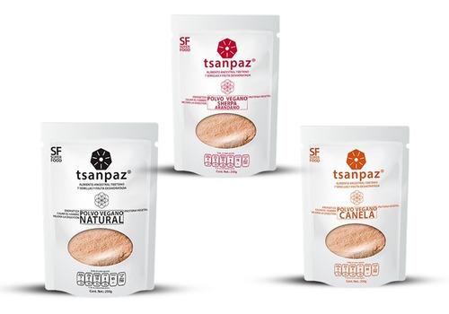 Imagen 1 de 7 de Milkshake Vegan Protein En Polvo Tsanpaz