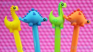 Kit 12 Plumas Din-dino Dinosaurio Kawaii Super Cute :)